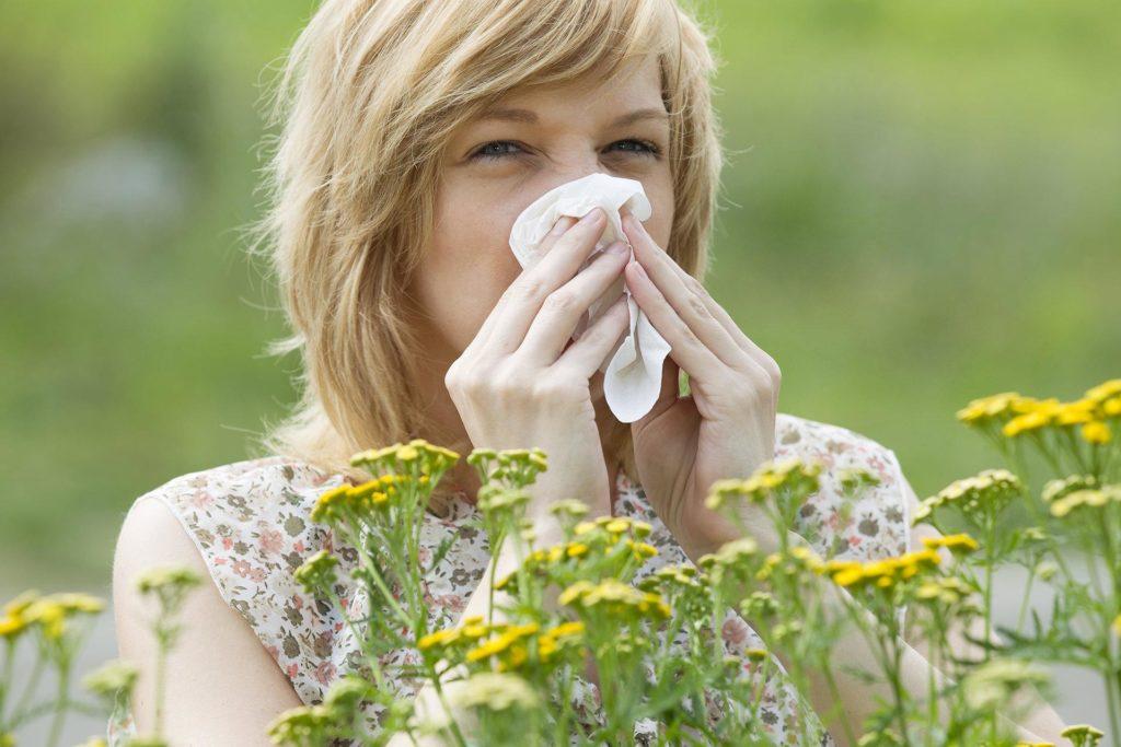 Аллергия в саду