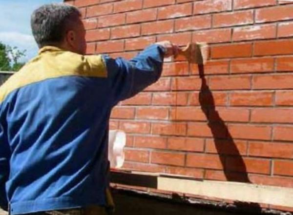 Защита наружных стен от воды
