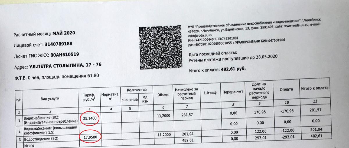 проверить оплату ЖКХ по лицевому счету